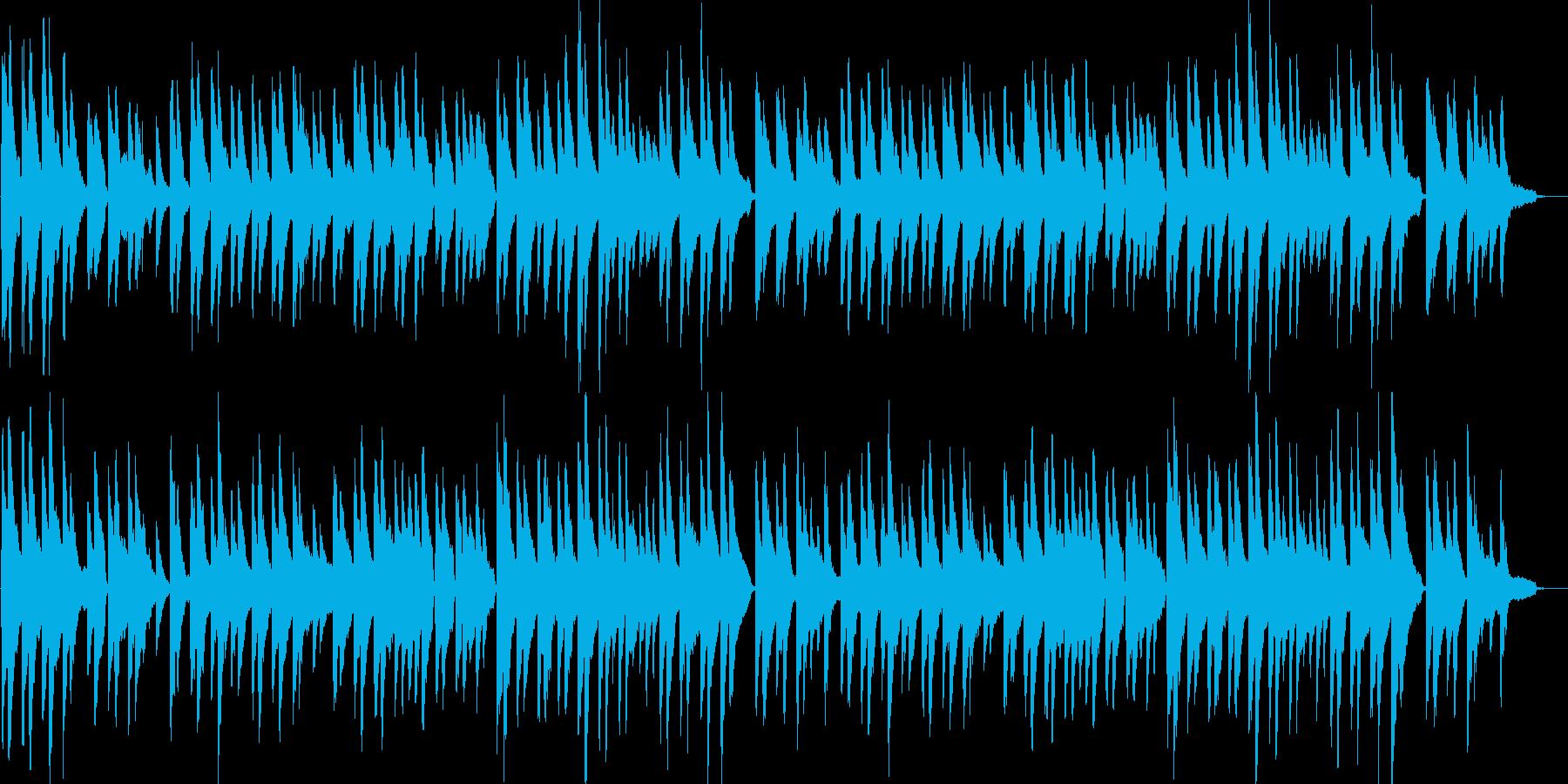 仰げば尊し・童謡・伴奏・カラオケ・合唱の再生済みの波形