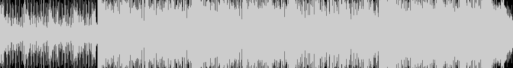 その日のピークの日常系インスト■ループ可の未再生の波形