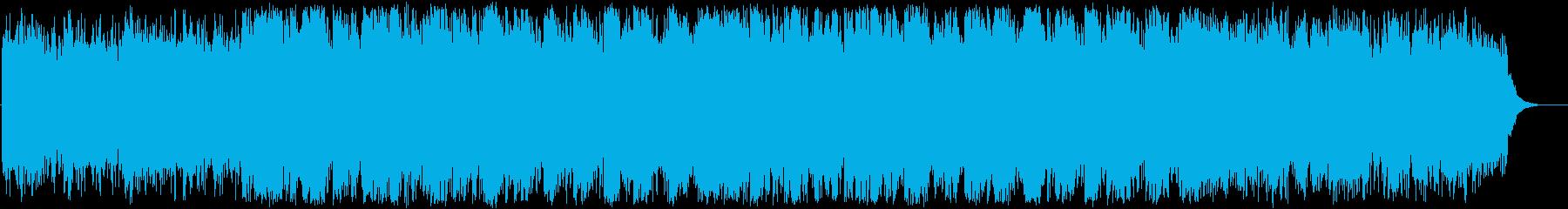 幻想的でどこか切ないミュージックの再生済みの波形