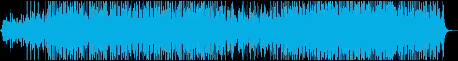 お祭りの再生済みの波形