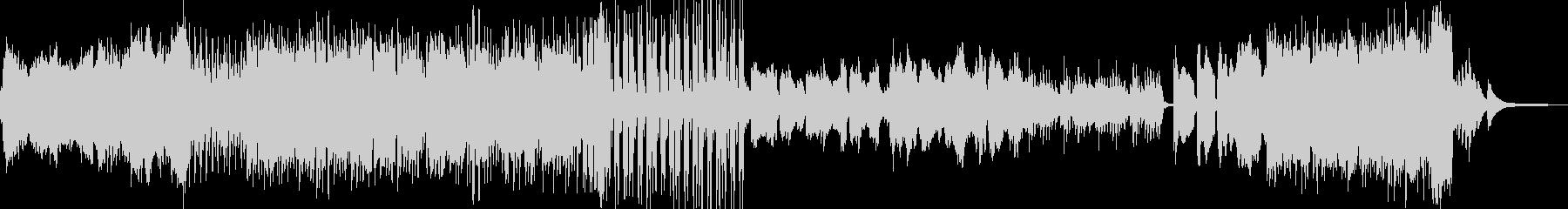 落ち葉が似合うクラシック B2の未再生の波形