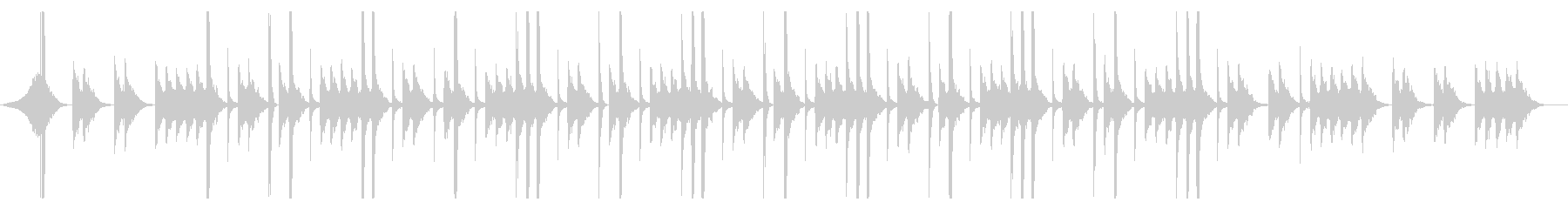 Pluck!!のオフボーカル版の未再生の波形