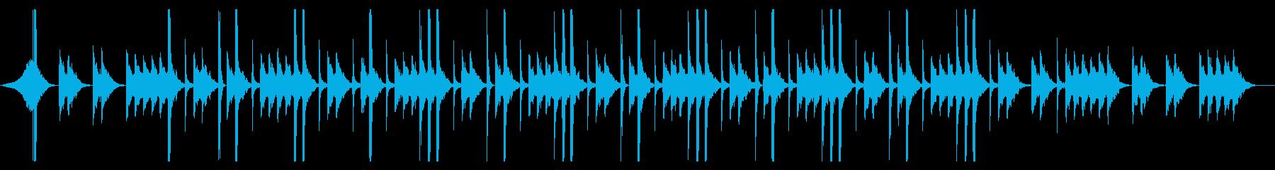 Pluck!!のオフボーカル版の再生済みの波形