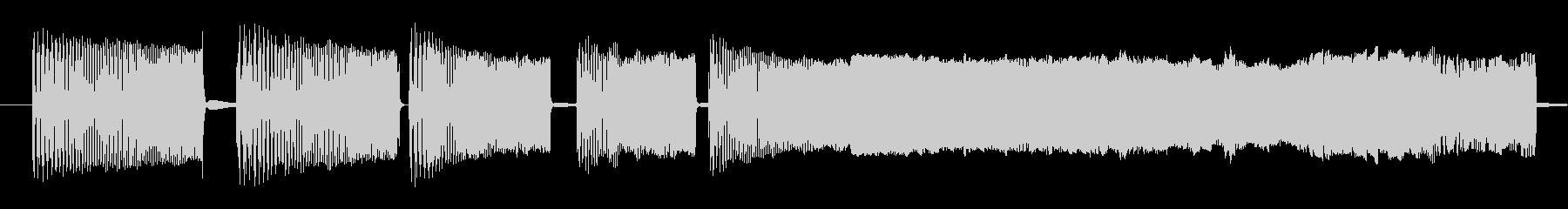 ハードマルチスパッタリングZAPS 3の未再生の波形