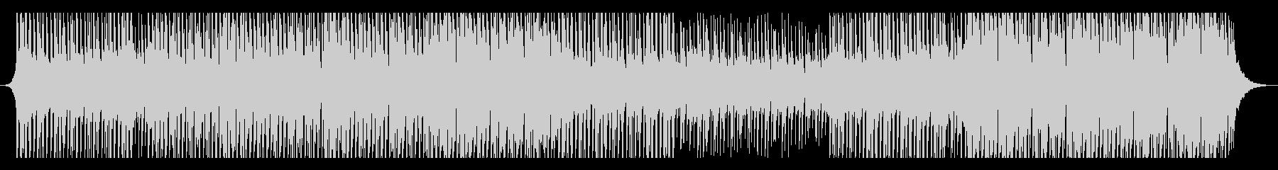ハウスミュージックの未再生の波形