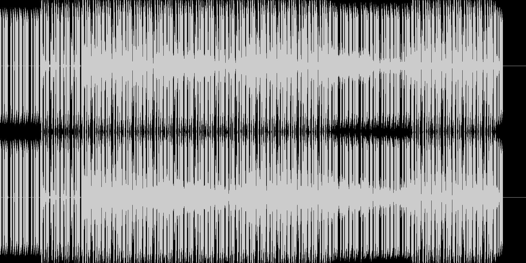 ベースフレーズと幻想的で不思議な雰囲気…の未再生の波形