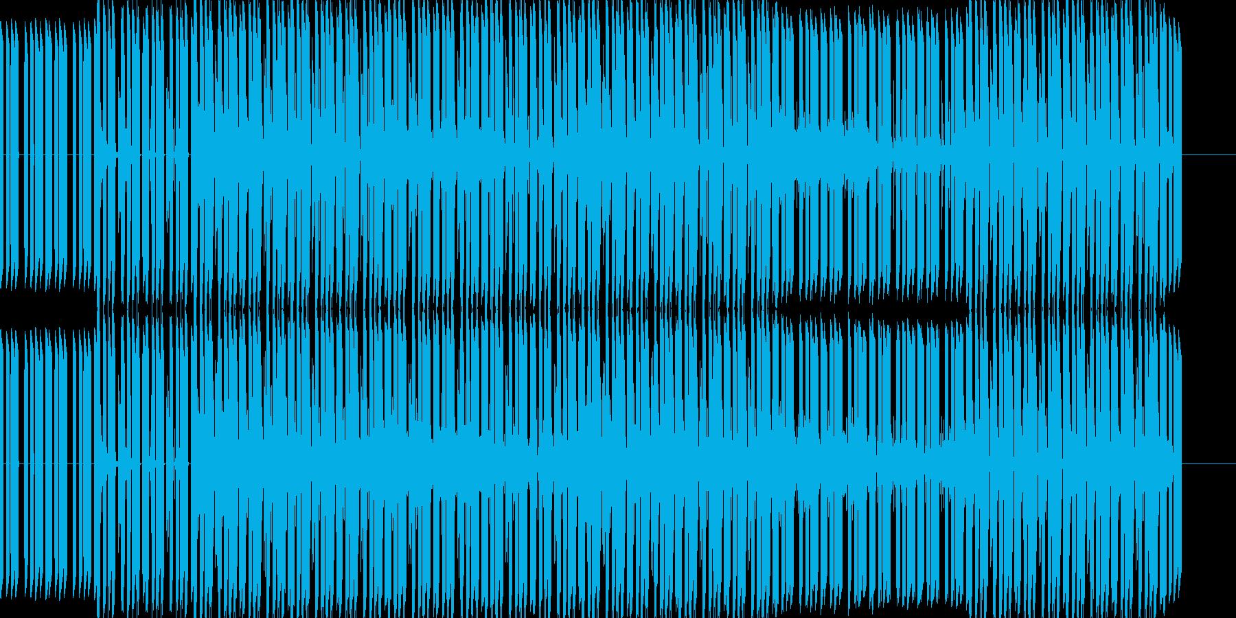 ベースフレーズと幻想的で不思議な雰囲気…の再生済みの波形