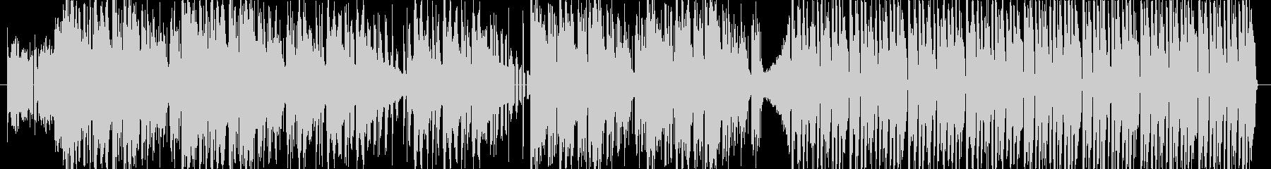スマートで先進的な電子音インストの未再生の波形