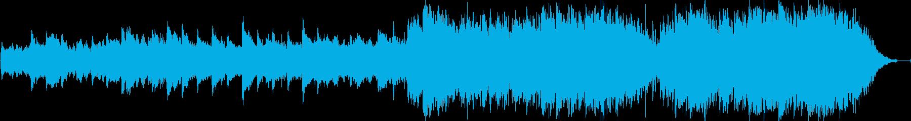 ピアノの不協和音が不安から再生までを演出の再生済みの波形