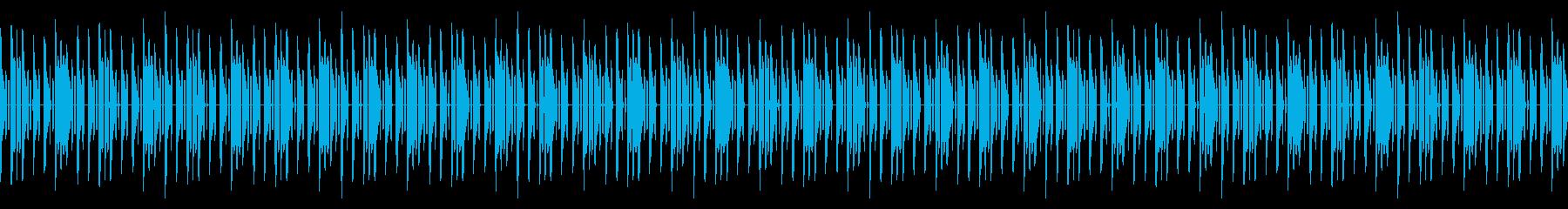 GB風パズル・カードゲームのED曲の再生済みの波形