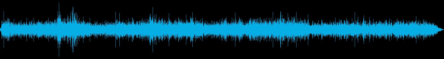 アンティークチューブ無線ラジオの再生済みの波形