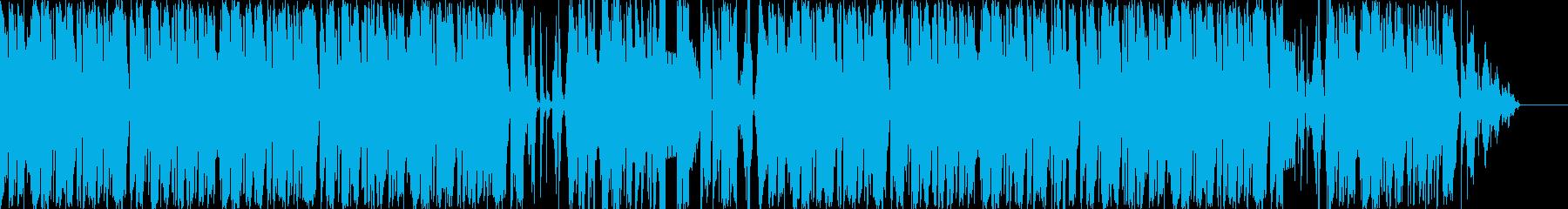 想像、柔らかい、機械的BGMの再生済みの波形