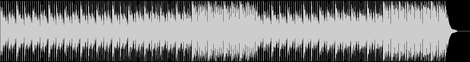 企業VPに 疾走感のあるピアノメイン曲の未再生の波形