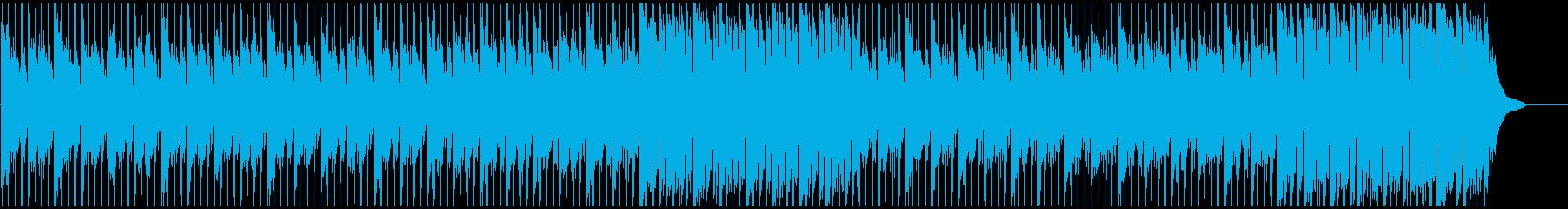 企業VPに 疾走感のあるピアノメイン曲の再生済みの波形