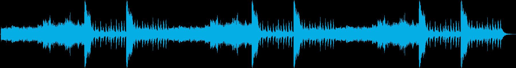 RPG フィールド「魔界」30秒ループの再生済みの波形