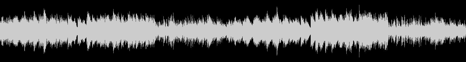 ホラー調で悲しい雰囲気の曲(ループ仕様)の未再生の波形