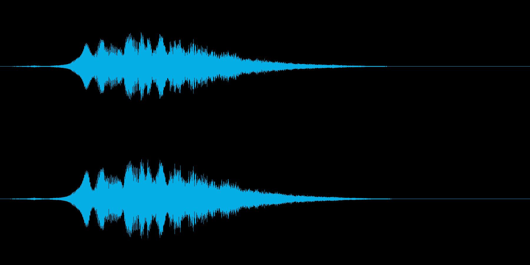 Sci Fiスイープアップ-宇宙、...の再生済みの波形