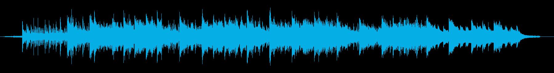 幻想的でスピリチュアルなバラードの再生済みの波形