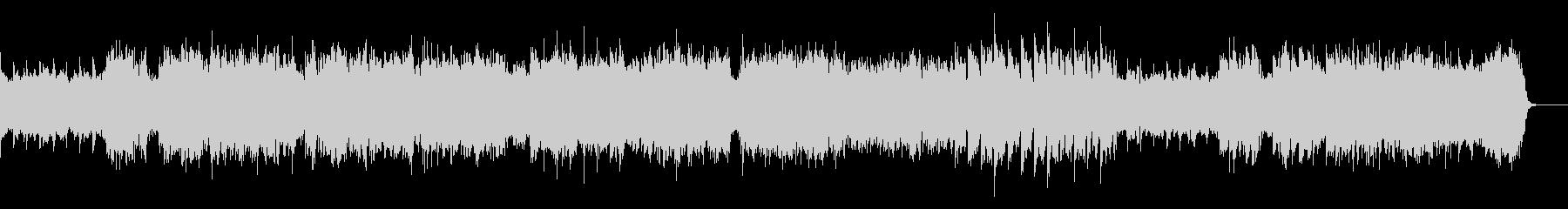 シンセの優しい系のバラードの未再生の波形