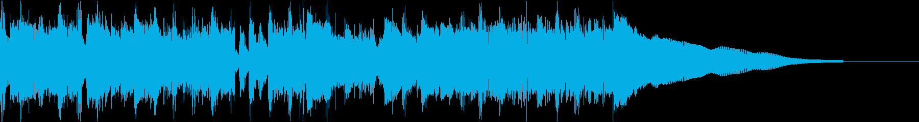 カントリー風ギターイントロ−07Cの再生済みの波形