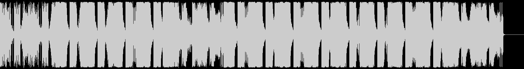 スタイリッシュで広がりのあるエレクトロの未再生の波形