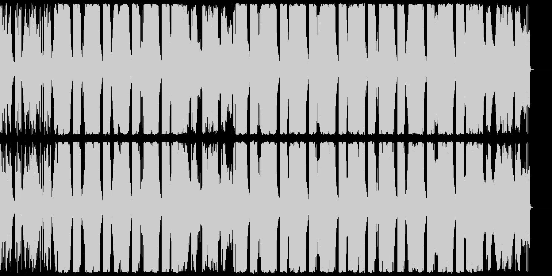 広がりのあるエレクトロ CM・企業VPにの未再生の波形