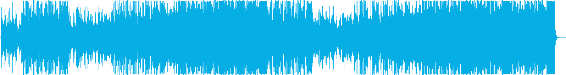 和風ロック系インストの再生済みの波形