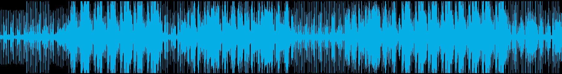 フューチャー感のあるR&Bの再生済みの波形