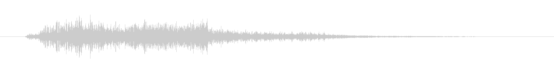 スペル フロートスタート02の未再生の波形