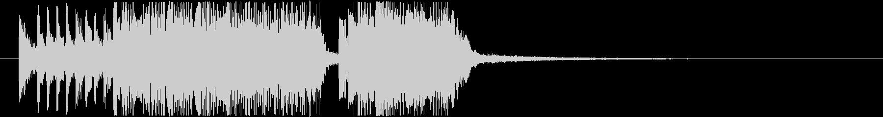 生演奏メタルなアイキャッチ1の未再生の波形