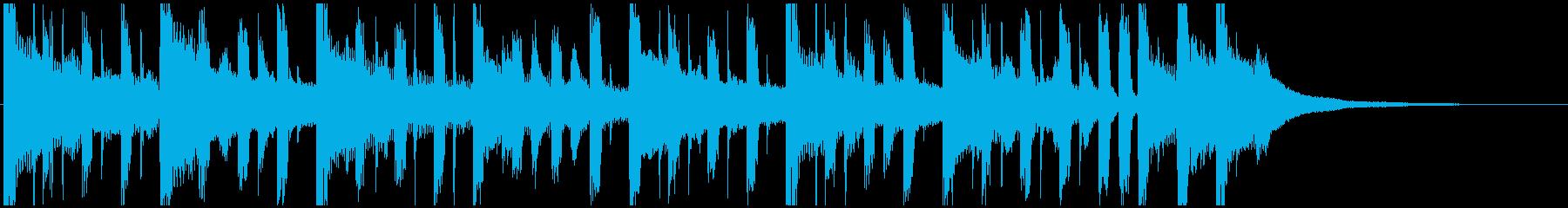 ガイダンス・オリエンテーションジングルの再生済みの波形