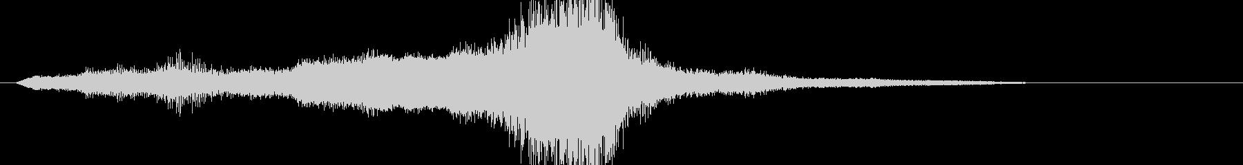 ヒューズ500:シングルバイ:低;...の未再生の波形