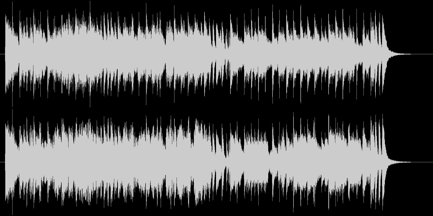 ゆったりと落ち着いた明るい音楽の未再生の波形