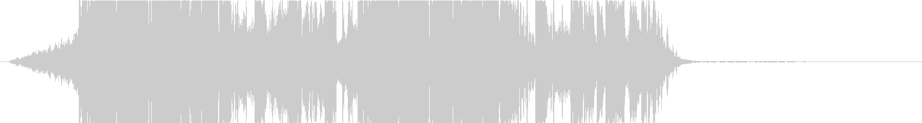 DUBSTEP クール ジングル175の未再生の波形
