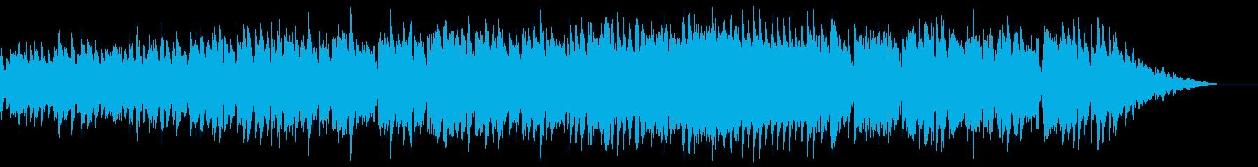 ヨーロッパの夕方の路地に合うBGMの再生済みの波形