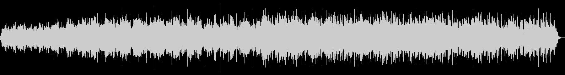 和のテイストを含むヒーリングサウンドの未再生の波形