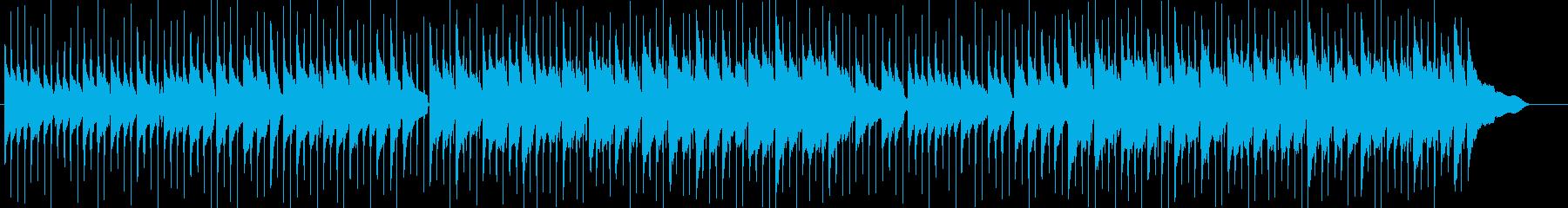 鉄琴が印象的でかわいいスローなポップの再生済みの波形
