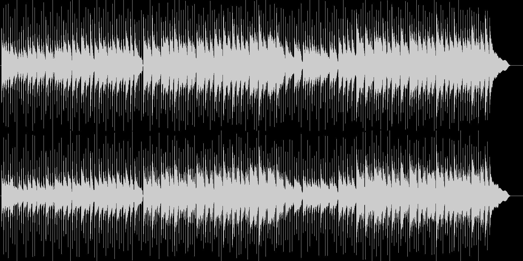 鉄琴が印象的でかわいいスローなポップの未再生の波形
