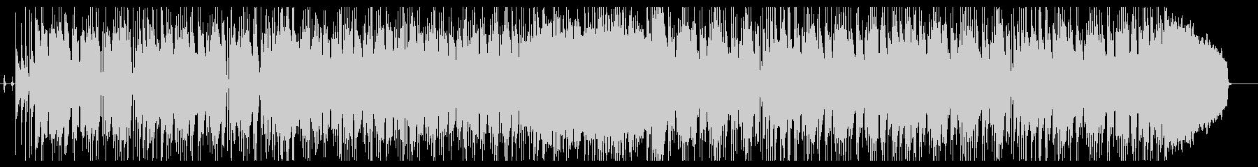 テンション感のあるベースラインのインストの未再生の波形