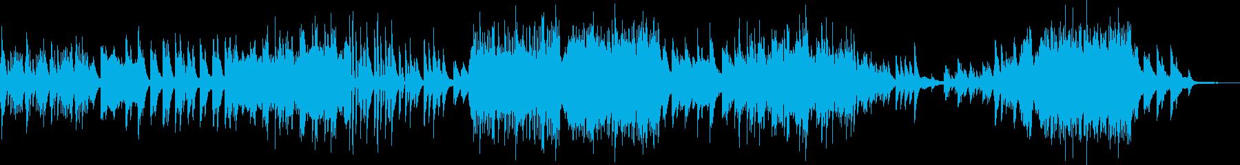 小躍りする旋律が楽しいピアノ…01:07の再生済みの波形