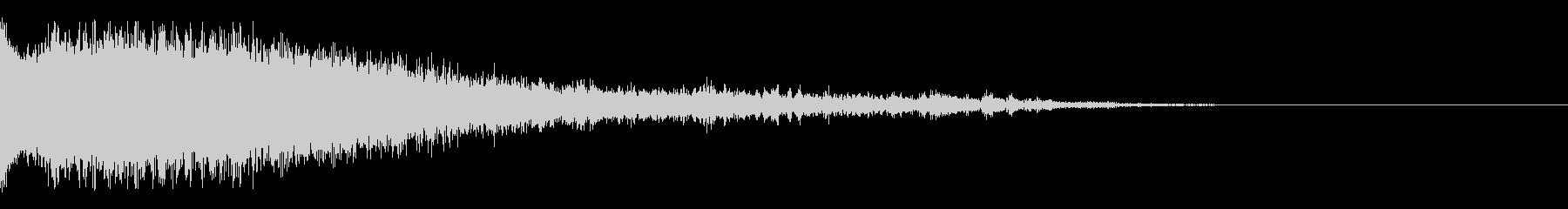 Dark_Sweepdown-02の未再生の波形