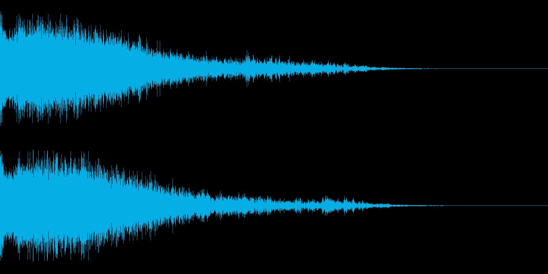 Dark_Sweepdown-02の再生済みの波形