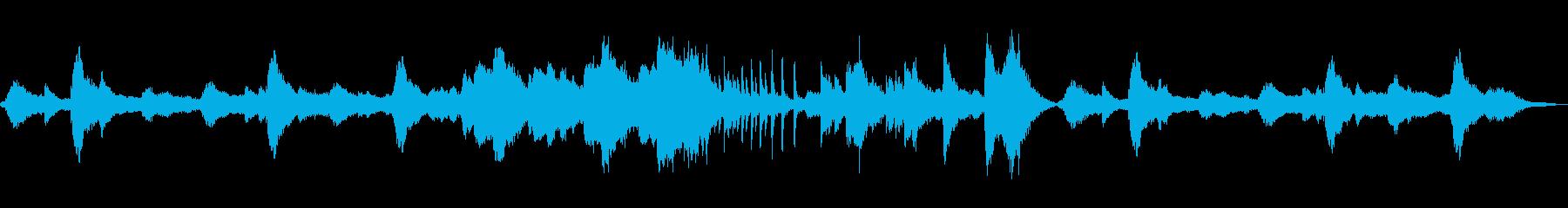 奇妙なリズムで独特な世界観のメロディーの再生済みの波形