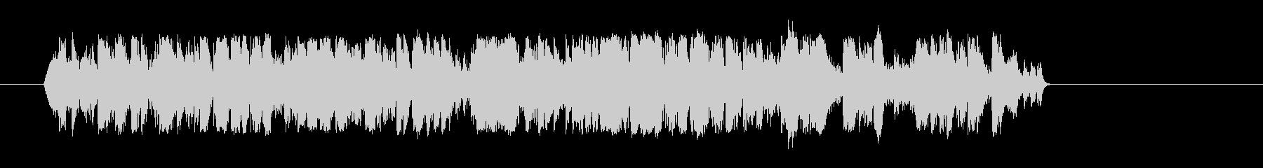 ピアノ-クレイジーソロの未再生の波形