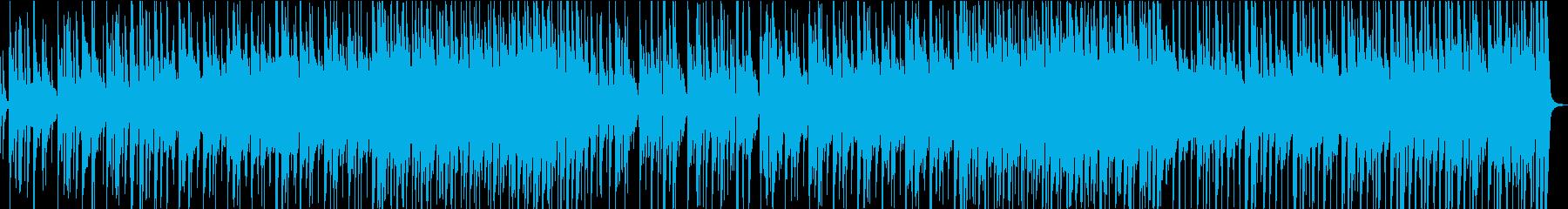 滑らかで流れるようなテナーサックス...の再生済みの波形