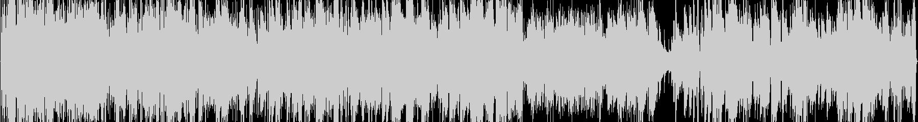 アコギ1本で壮大な海をイメージした曲の未再生の波形