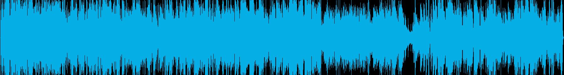 アコギ1本で壮大な海をイメージした曲の再生済みの波形