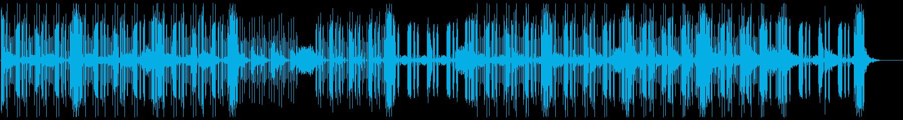 シンキング・タイム_考え中の再生済みの波形