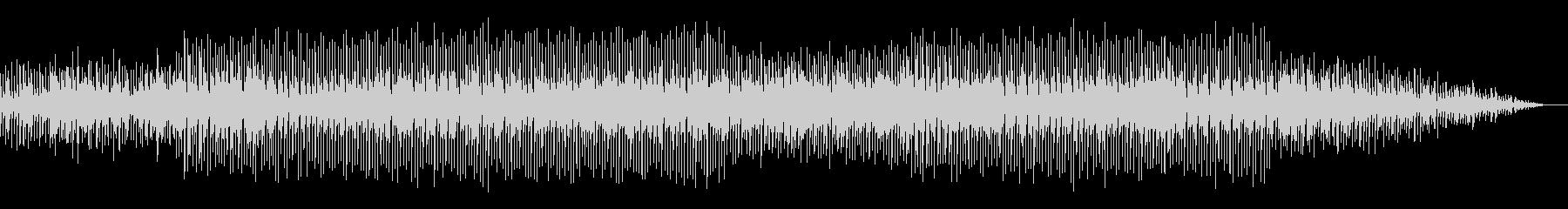 電脳世界の迷宮に迷い込んだ感覚のBGMの未再生の波形