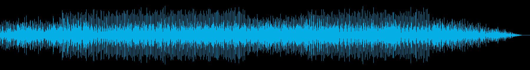 電脳世界の迷宮に迷い込んだ感覚のBGMの再生済みの波形